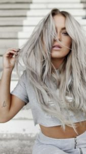 best hair - grey hair